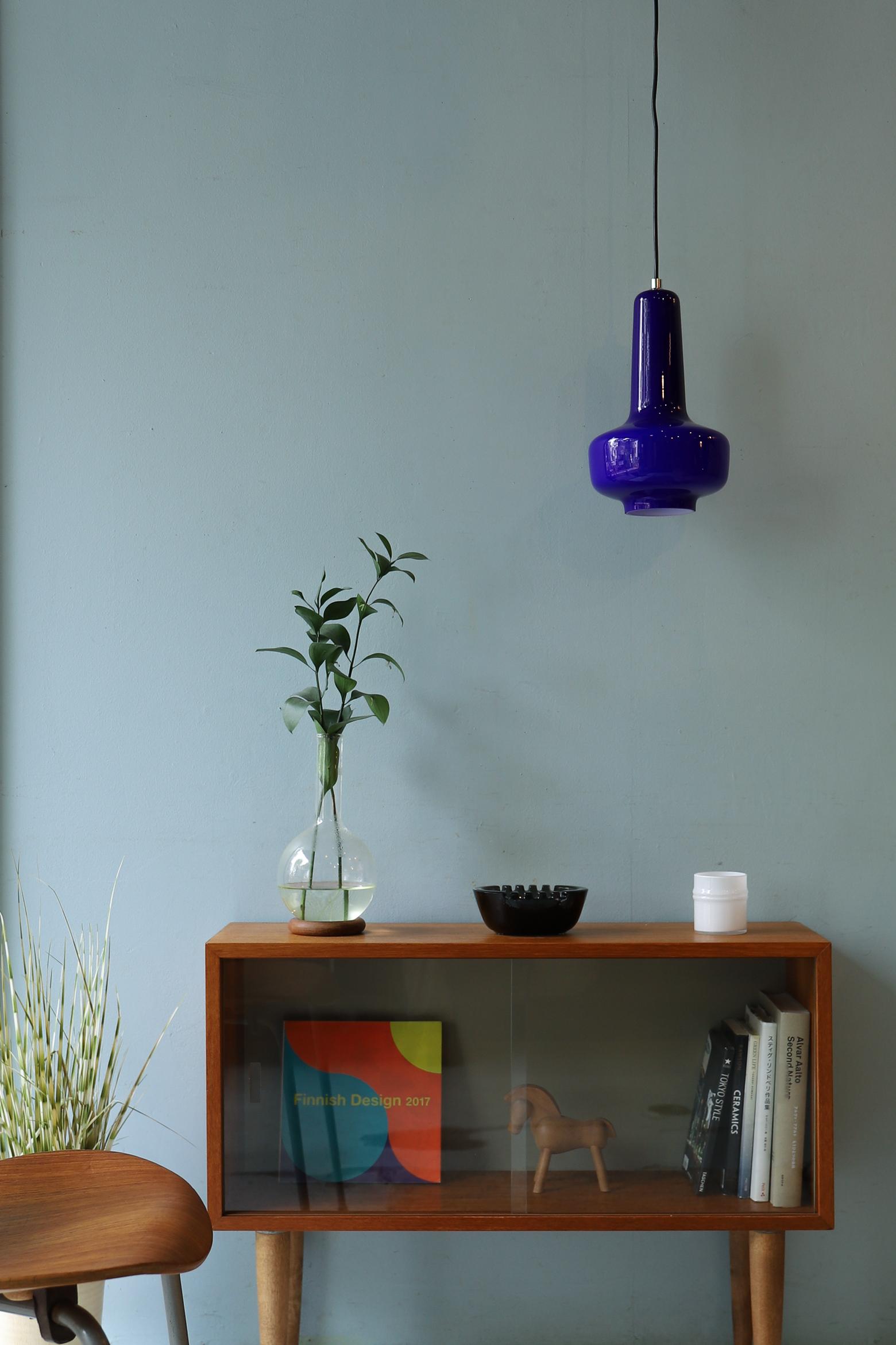 Danish Pendant Light Glass Shade/デンマーク ペンダントライト ガラスシェード ミッドセンチュリーモダン インテリア